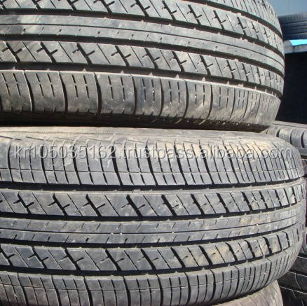 High Tread Used Tires with Korean Premium Brands