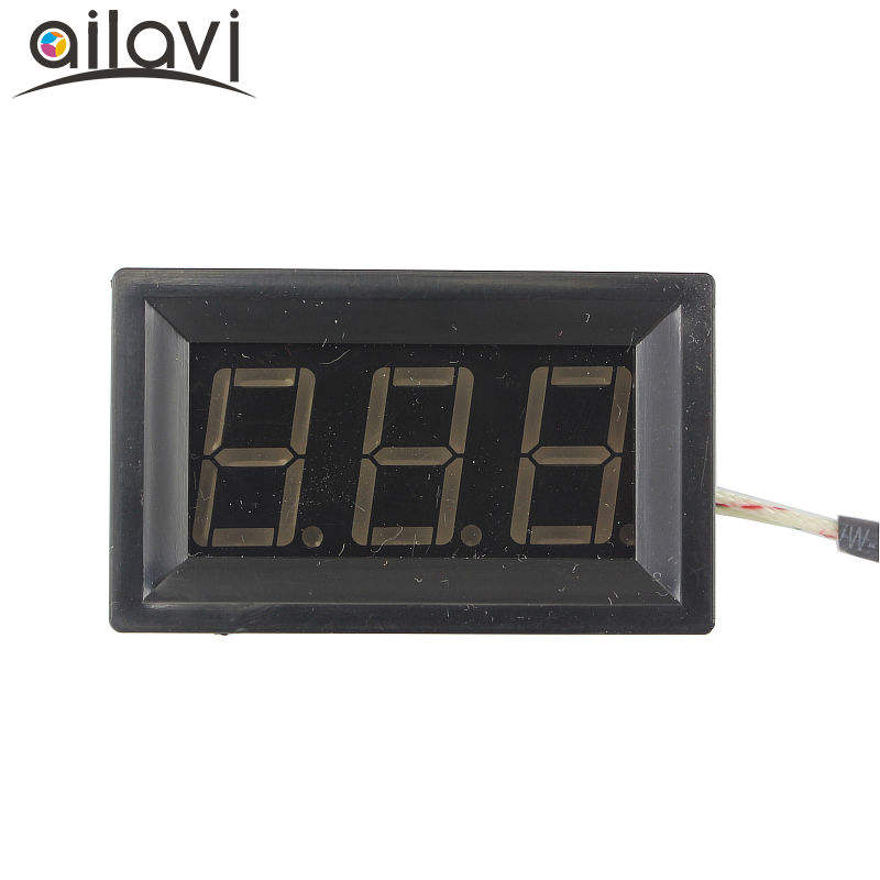 DC 12V digitale display hoge temperatuur thermometer type k thermokoppel industriële digitale thermometer-30 ~ 800 graden