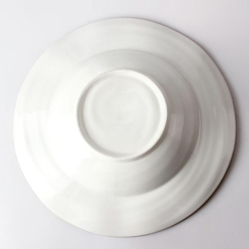 Cheap Catering Soup Plate Ceramic Porcelain Restaurant Dishes Plates