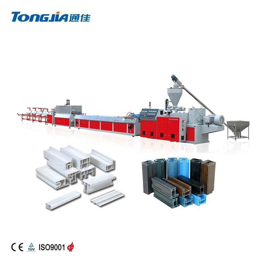 Tongjia JG-YXSZ PVC ceiling cornice extruder machine for construction decoration
