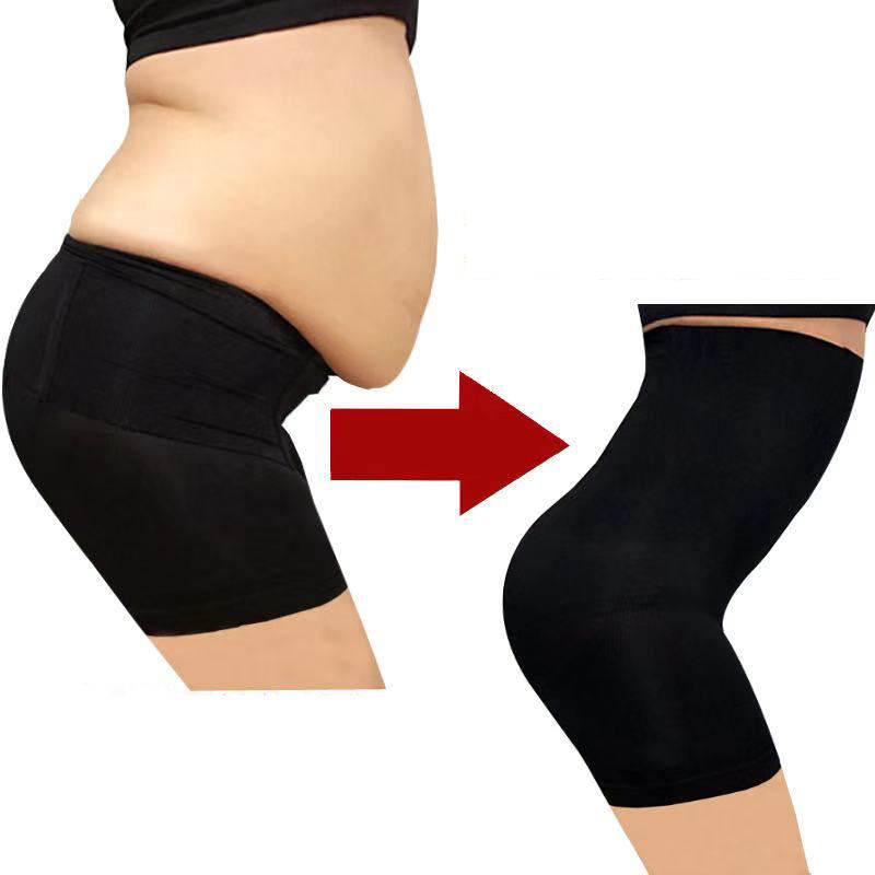 S-4XL Plus Size High Waist Body Shaper Slimming Panties Tummy Control panties waist trainer Butt Lifter Slimming Pants