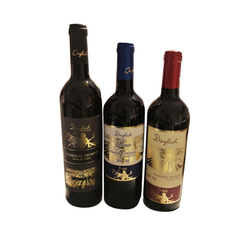 Hot Selling Wholesale Spain Dry Red Wine with 0.88 Euro/Bottle Exwork