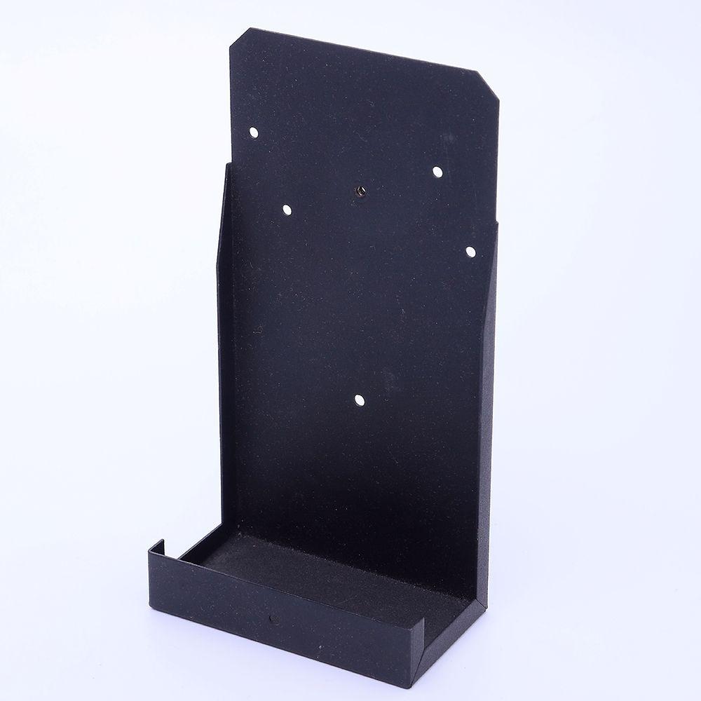 custom metal black painting angle brackets as per the drawings