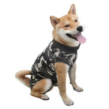 China Wholesale Fashion Custom Cotton Pet Surgery Apparel Clothes Recovery Suit For Dogs