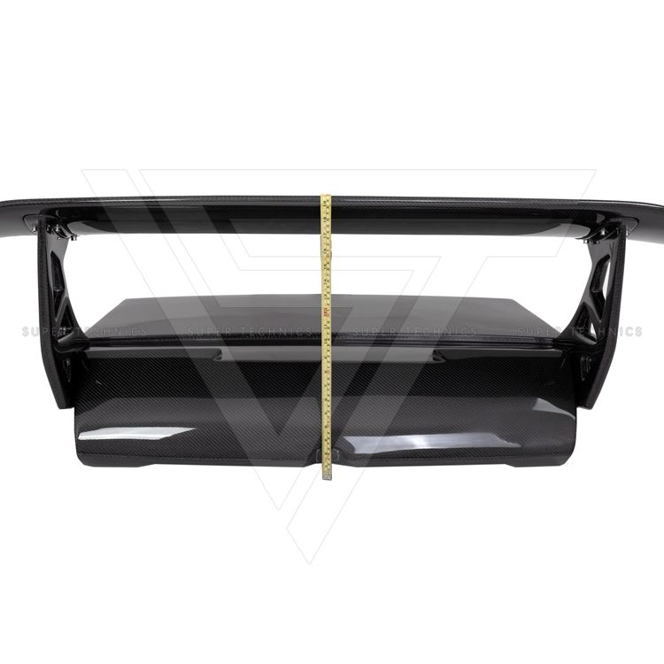 SV Style Carbon Fiber Rear Trunk and Spoiler Wing For Lambo Murcielago LP670-4 2004-2010