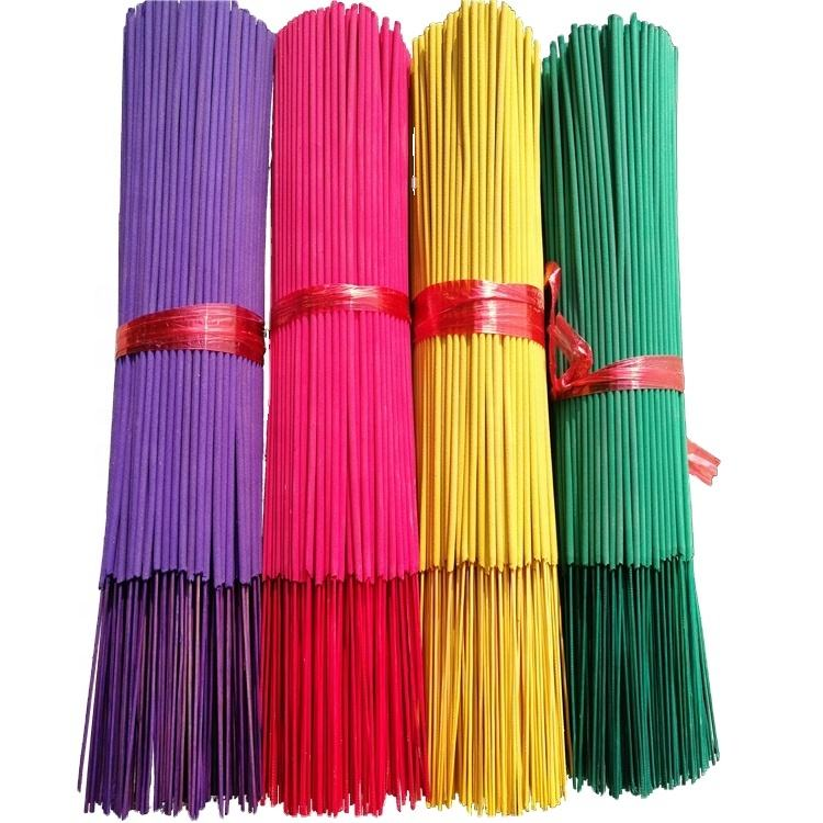 Hot Sale Good Quality Unscented Scented Incense Agarbatti Stick Colorful Wholesale Prices Incense Sticks
