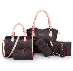 Handbags Set New Design Lady Handbag Carteras Mujeres De Cuero Wholesale High End Fashion Handbags