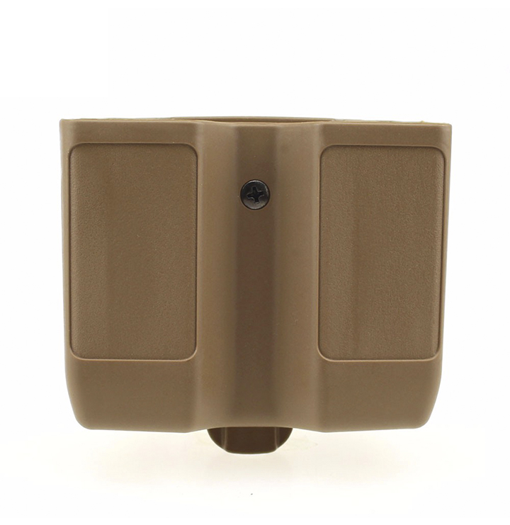 Military Quick Draw Double Magazine Pouch Case Universal Pistol Cartridge Clip Holder for 1911 M92 Glock