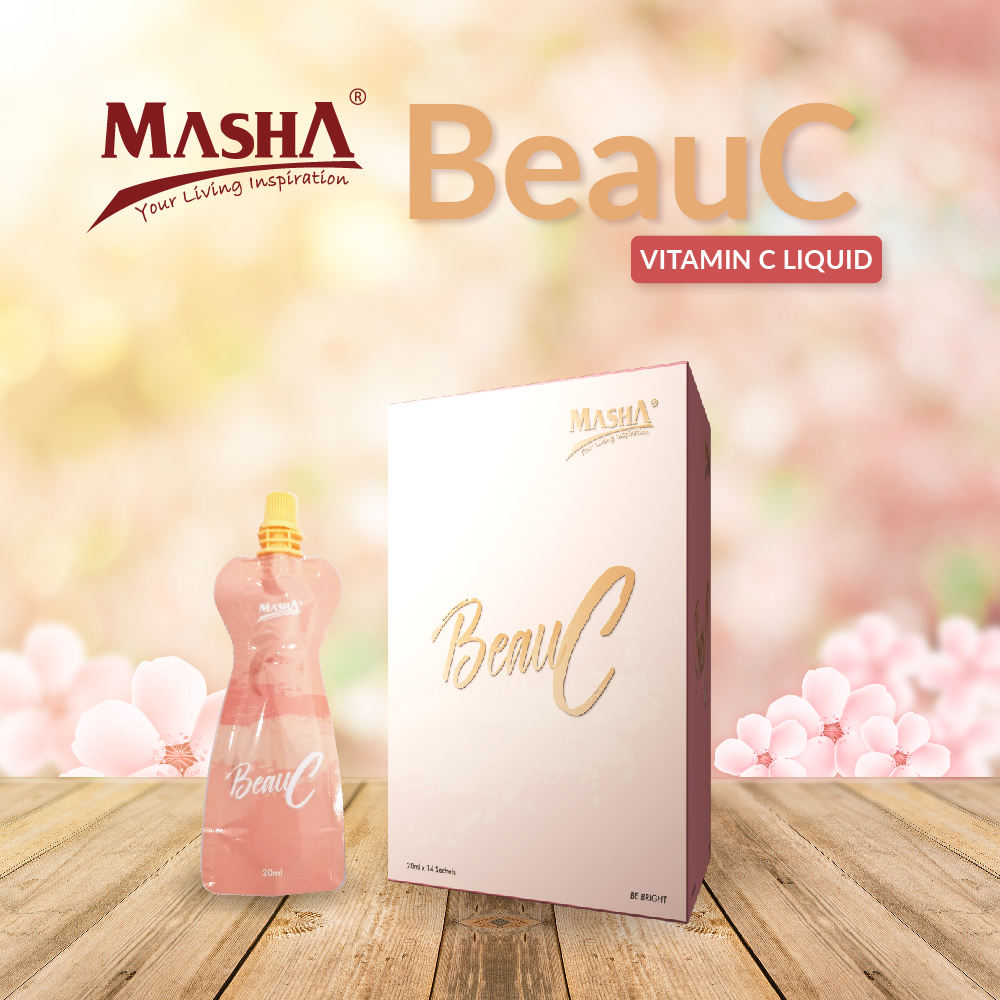Masha Natural Whitening Beauty Liquid Juice (Malaysia)