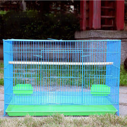 Wholesale Stackable Wire Mesh Parrots Breeding Bird Cage Pet Bird Cage