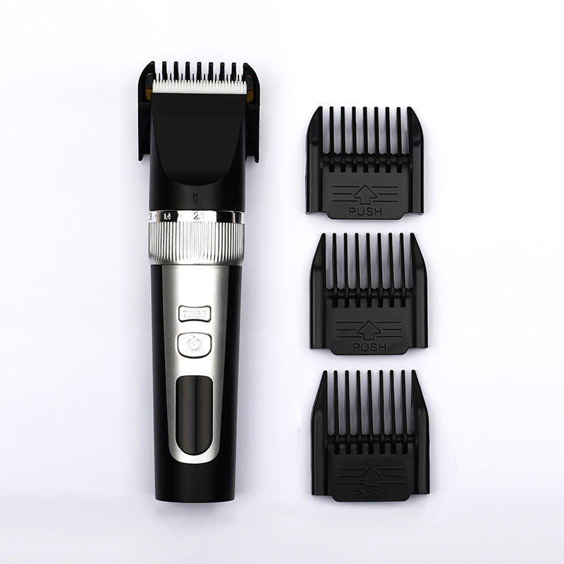 Professionale Impermeabile LCD Cordless Ricaricabile Salone di Barbiere Elettrico Barba Trimmer Capelli Clippers con 4 trimmer pettini
