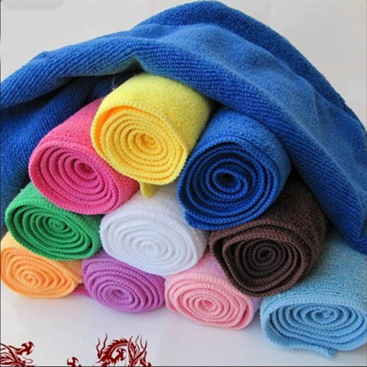 80 Polyester 20 Polyamide Microfiber Towel Fabric Roll cleaning towel microfiber