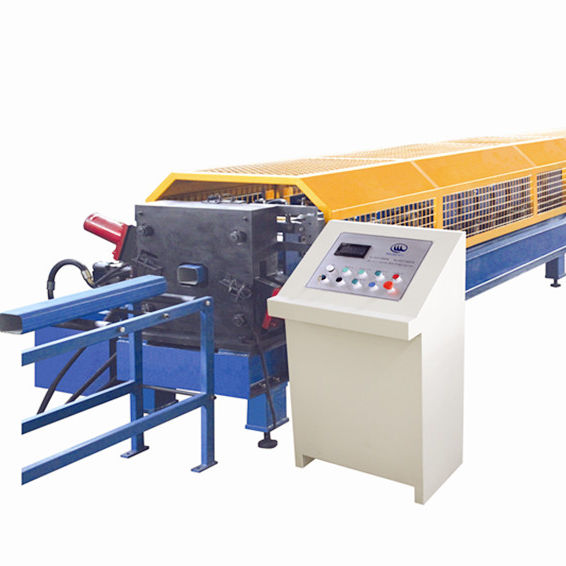 Rainwater steel profile gutter roll forming machine for factory direct selling