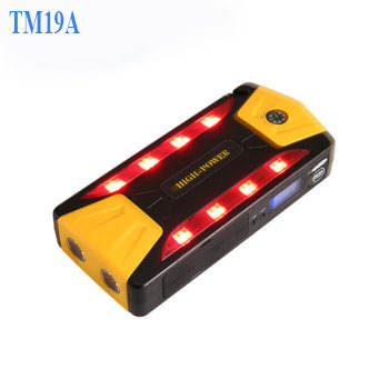 18000mah 600A Portable Multi-function super mini booster pack 12V Car Jump Starter With LCD Display