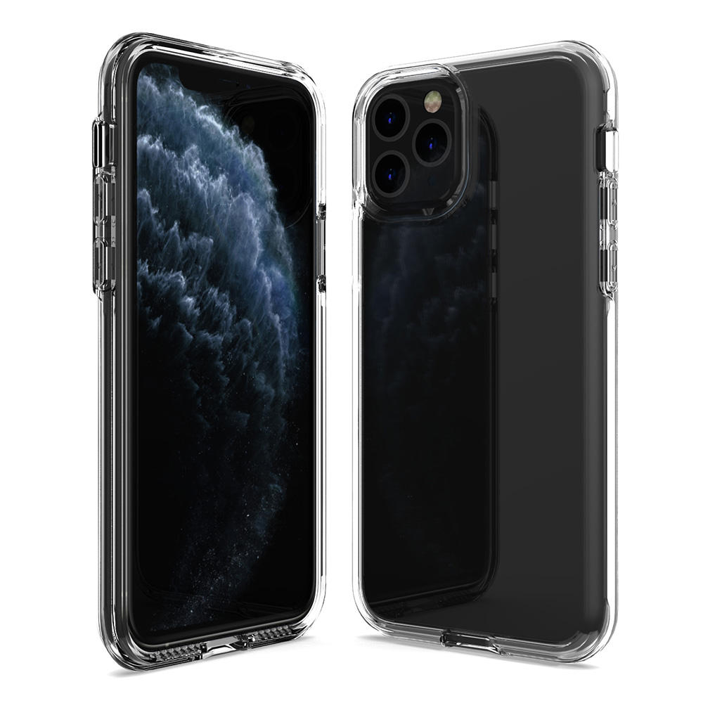 Transparent Smart Custom High Clear Back Cover Mobile Cell Phones Case For iPhone 11 12 Pro XS Max