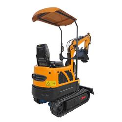 China 2020 New 1 Ton mini pelle excavator digger bagger with CE