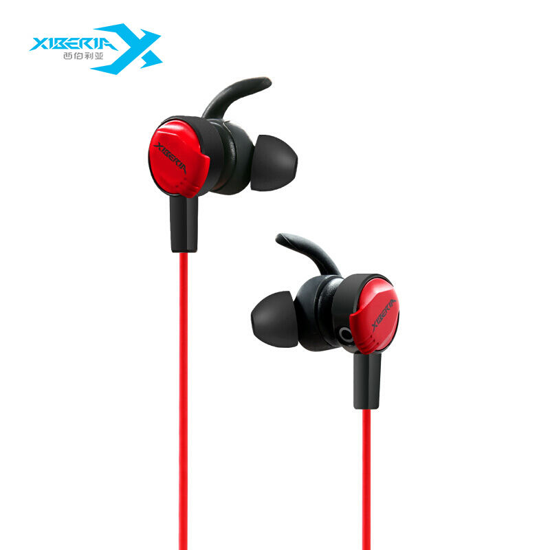 Xiberia Top Highest Quality Promotional Gift Most Popular New Products 3D Surround Sound Red Earbuds Gaming Headset