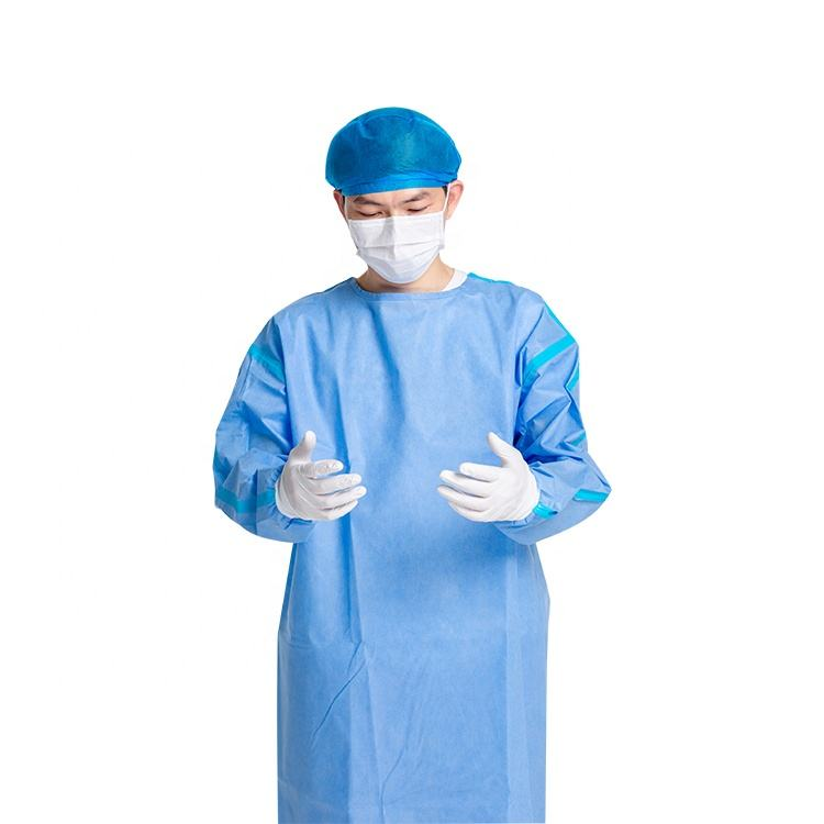 high quality Isolation gowns level 3 non woven wholesale isolation gown