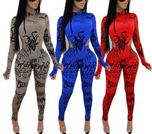 Two Piece Set Women Fall Winter womens two piece set jumpsuit pants Suit 2 Piece Matching Sets Sexy Club Outfits