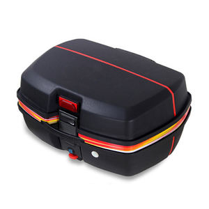 Motorcycle tail box Large Capacity 43L scooter top box Motorcycle rear top case