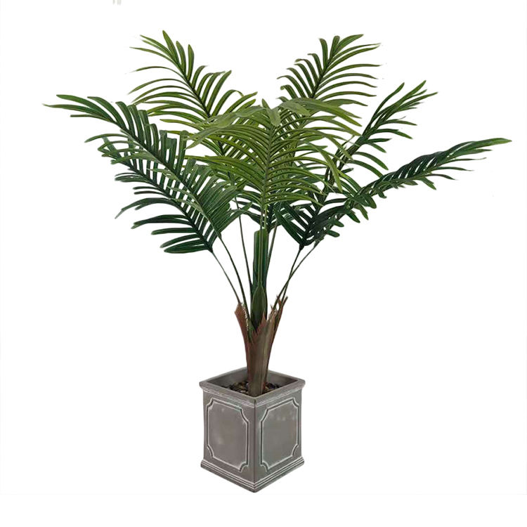 Lifelike Hot Selling New Style Is Suitable For All Kinds Of Indoor And Outdoor/Artificial Palm Height Customizable