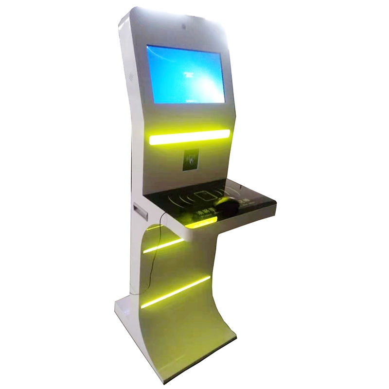 smart easy operation self service library kiosk