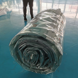 transparent crystal clear pvc laminated tarpaulin