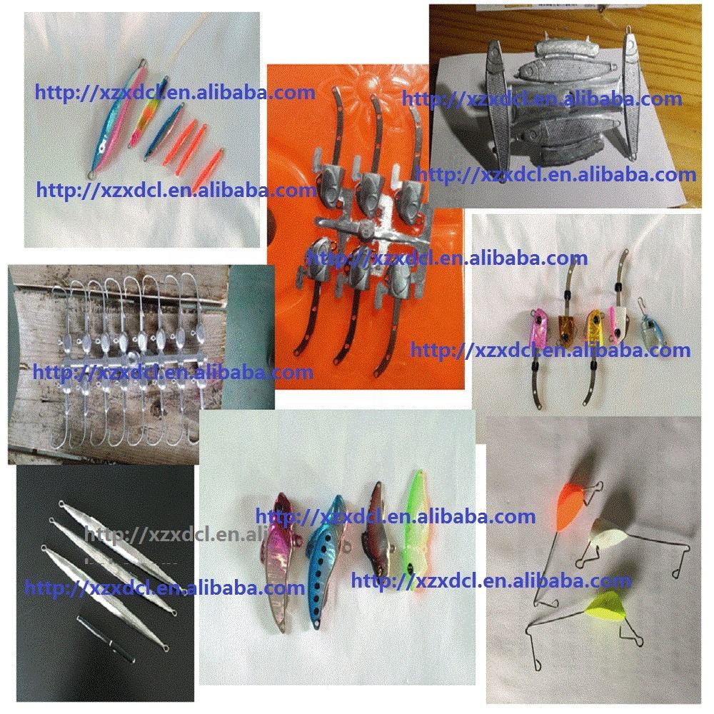 High Productivity [ Machine ] Lead Fishing Machine Fishing Hooks Fishing Sinker Making Die Casting Machine