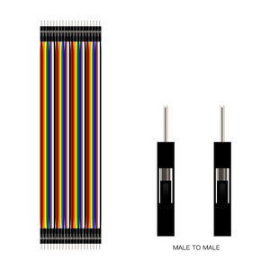 Dupont Line 10cm/20CM/30CM Male to Male / Female to Male or Female to Female Jumper Wire Dupont Cable Electrical Wires