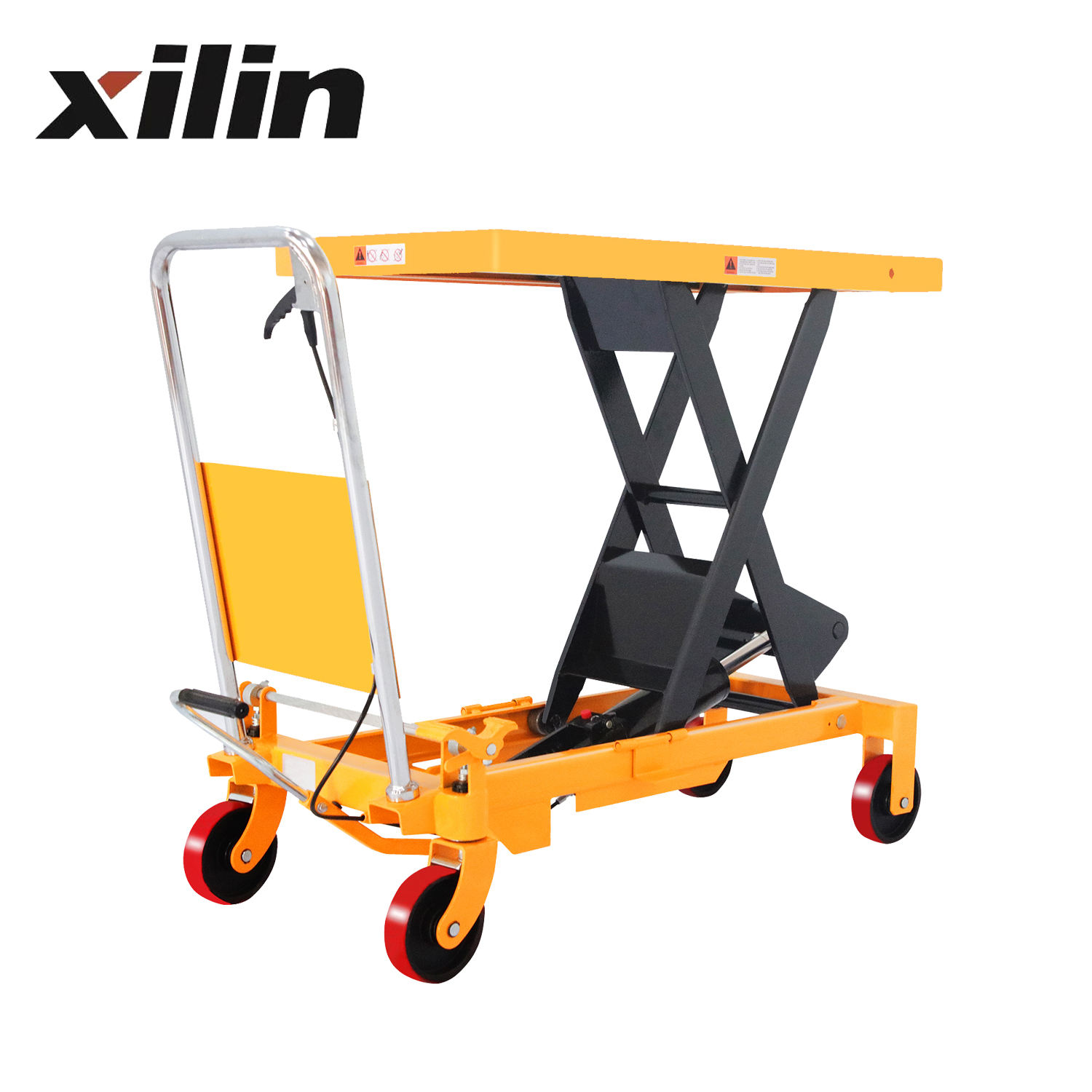 Xilin 800kg 1760lbs Good Quality Hydraulic Single Scissor Lift Table lifttables