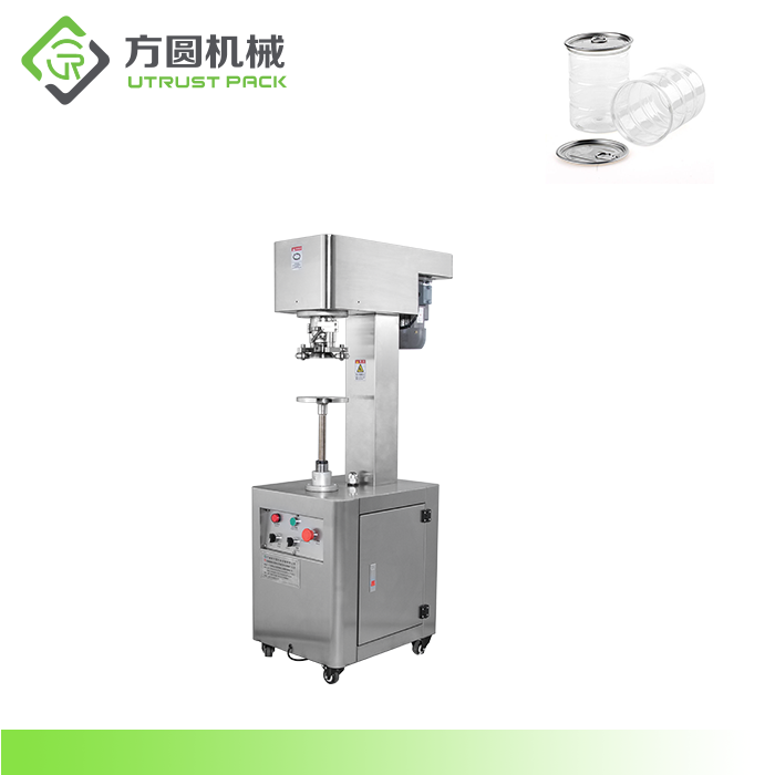 Small Pet Canned Food Seamer Manual Sans Sealing Machine