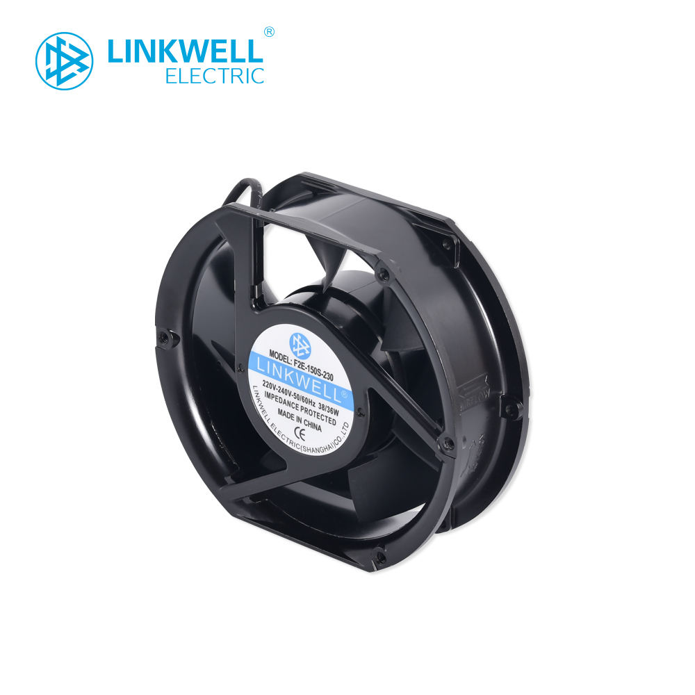 brush less motor 220v AC cabinet exhaust cooling axial flow fan