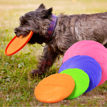 Rubber Flyer Dog Flying Disc Dog Toy Multi Color OEM Service For Large,Medium Dogs