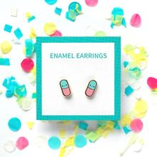 Zinc Alloy Earrings Design Your Logo Earring Stud with Backing Card