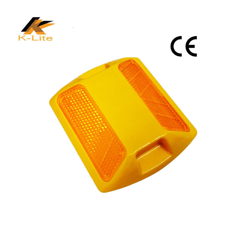 CE approved PMMA lens road reflectors cat eyes raised pavement marker plastic reflective road stud
