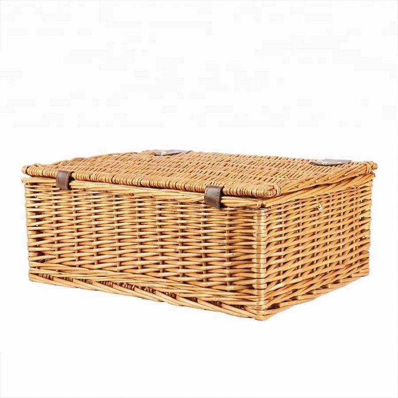 Wholesale Insulated Cheap Portable And Convenient Wicker Picnic Baskets