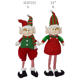 Customized Shape Wholesale Standing Stuffed Elf Christmas Ornament on Shelf 24 Inch