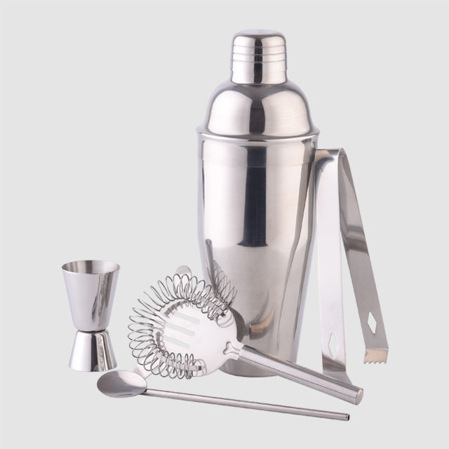 Factory Direct 700ml stainless steel cocktail bar shaker 2019