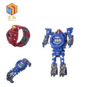 best gift cool wholesale deformation robot watch toy for children