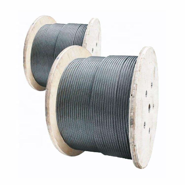 6x19+FC 11mm 1670MPa Electric Galvanized Steel Wire Rope