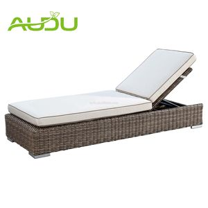 Luxe Outdoor Plastic Strand Ligstoel Plastic Strand Bed Zon Bed