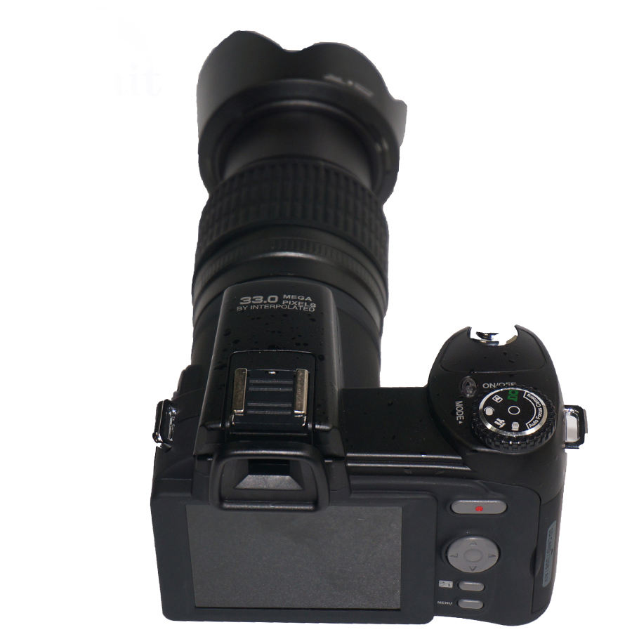 DC-7200 DSLR support 32G sd card video camera 33 Mega pixels digital camera dslr HD professional camera good quality wholesale