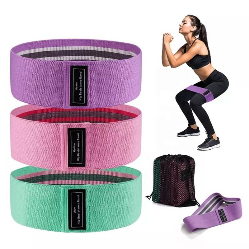 Oem Custom Hip Band Weerstand Booty Bands Hip <span class=keywords><strong>Cirkel</strong></span> Yoga Stretch Bands