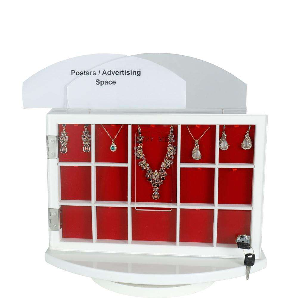 Professional Jewelry Acrylic lid Display Wooden Box With CE Certificate