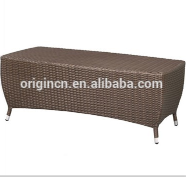 Modern home living room or outdoor garden line patio sofa and tables rattan furniture modern