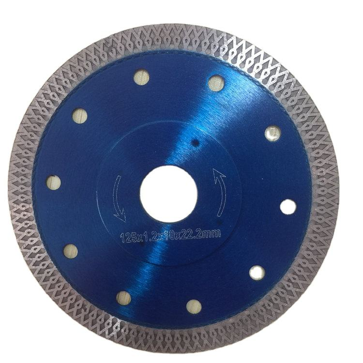 105mm 115mm 125mm 180mm 250mm hot press cutting tile turbo diamond saw blade disc for porcelain
