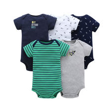 100% cotton hot sale baby romper set short sleeve newborn baby rompers