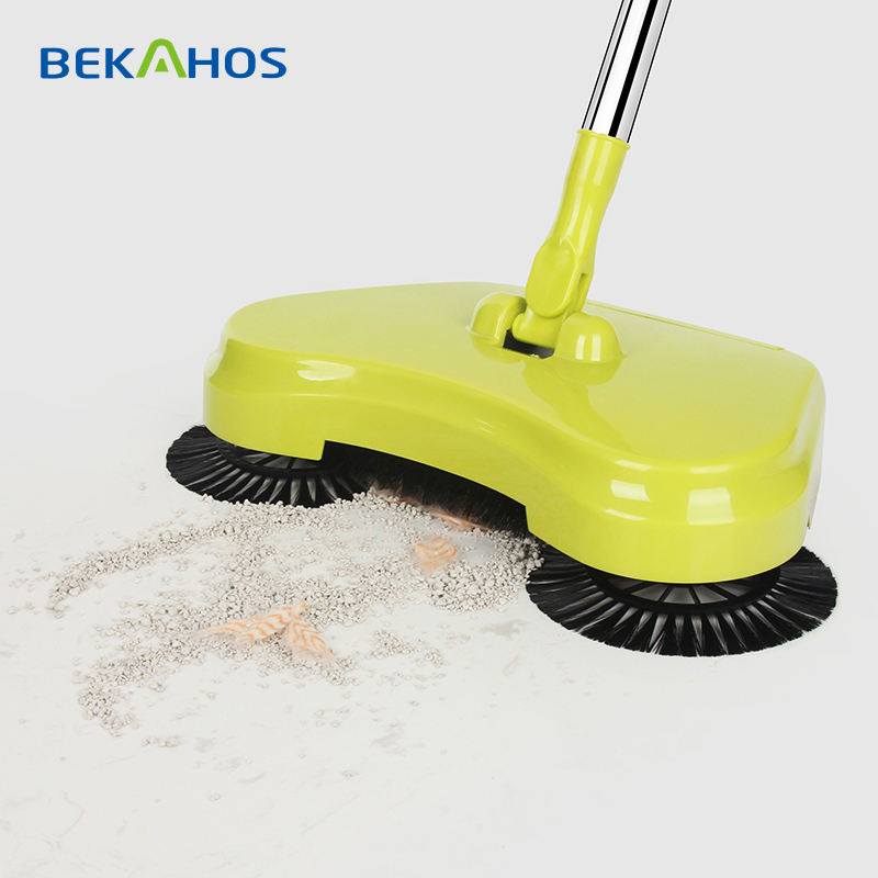 Household Item Floor Cleaning Magic Broom Hand Push Sweeper And Mop 2 in 1