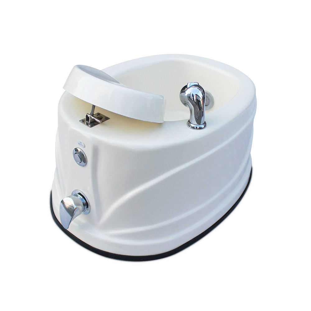 Portable Beauty Spa Sink No Plumbing Whirlpool Pipeless Jet Foot Bath Salon Manicure Pedicure Tub