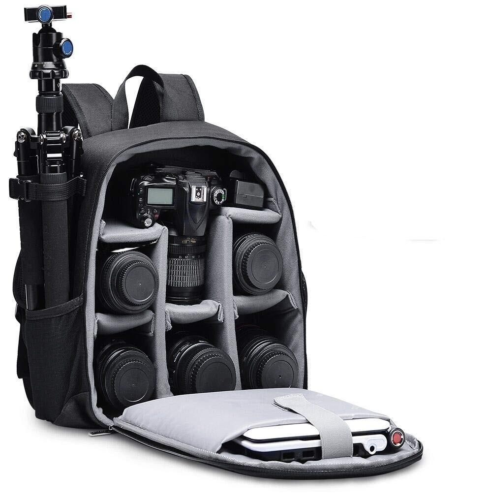Factory Waterproof Multifunction shockproof simple bag Camera Bag Backpack For DSLR And Laptop Camcorders